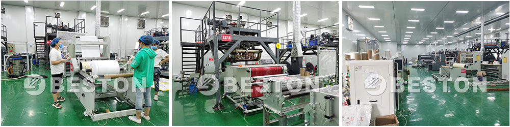 Beston-melt-blown-cloth-production-workshop-display