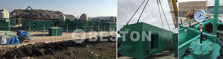 BLL-30 Pyrolysis Plant In Romania